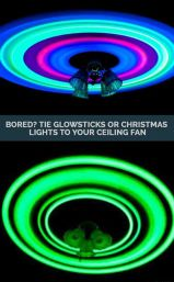 glow stick ceiling fan