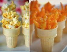 Olympic Torch Snacks