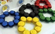 Olympics Cupcakes