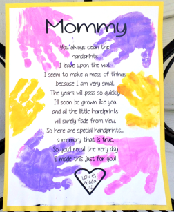 Mommy Hand Prints